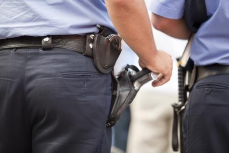 truncheon: police patrol