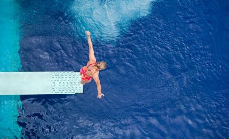 free diver: springboard jump