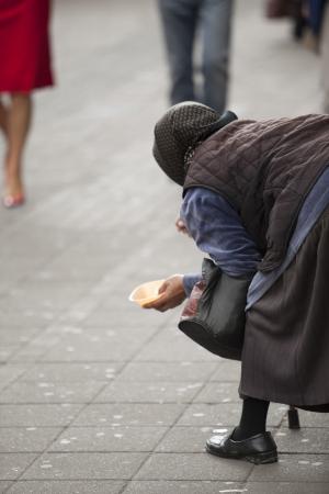 beggar Stock Photo - 18627124