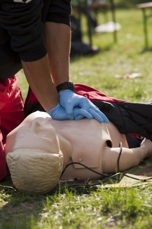 cpr: first aid