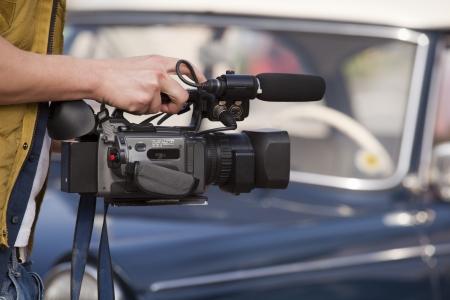 newsroom: video camera