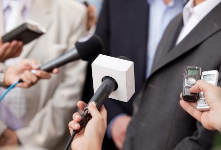 talker: media interview