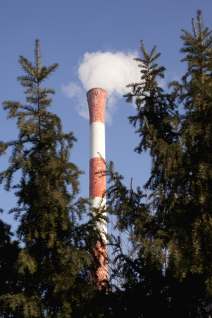greenhouse effect: air pollution