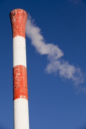 smoke stack: air pollution