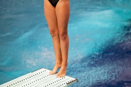 springplank: duiker op de springplank