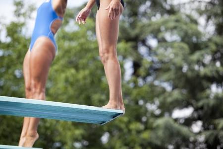 springboard: buzos trampolín