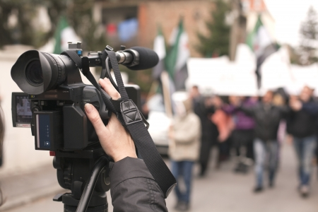 coprire un evento con una videocamera
