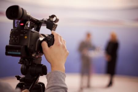 amely egy olyan rendezvény, videokamera Stock fotó