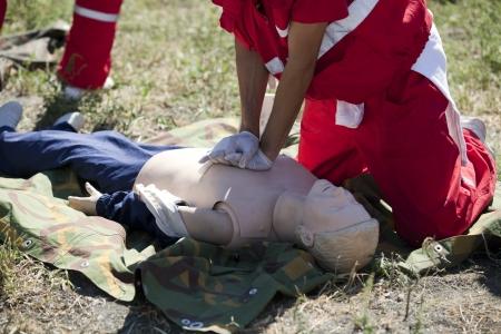 teaching aid: first aid