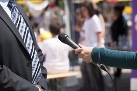news media: media interview