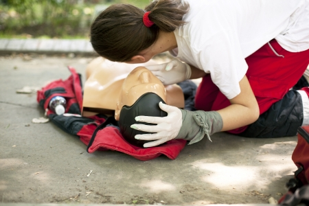 cpr: first aid training detail