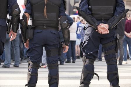 politie Stockfoto