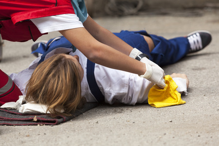 patient safety: first aid training detail
