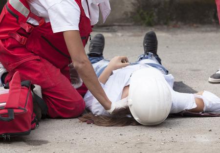 accident de travail: Accident du travail