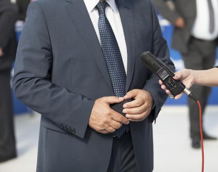 hablar en publico: Presione entrevista