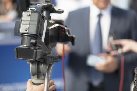 Media interview photo