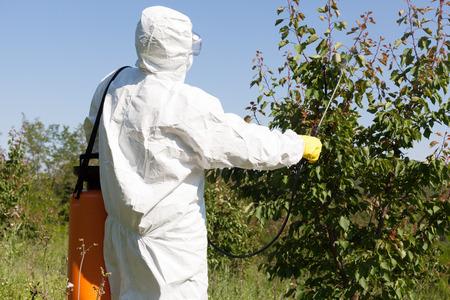 veneno frasco: Fumigaci�n de pesticidas