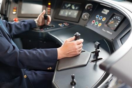 Conducteur de train Banque d'images - 40058727