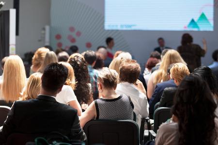 publico: Los participantes del taller de negocios