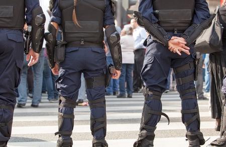 Police. Counter-terrorism. Stock Photo