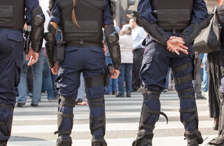 Police. Counter-terrorism. Banque d'images