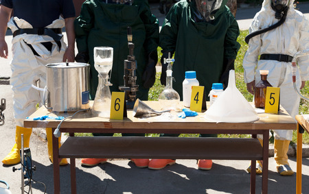 Drug enforcement team uncovers meth lab