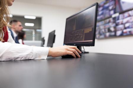 Surveillance vidéo de sécurité Banque d'images - 54979667