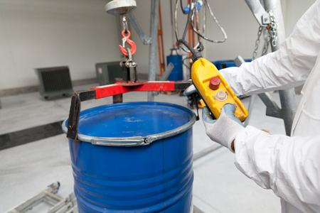 hazardous: Hazardous materials storage