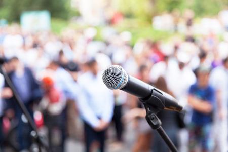 Sprechen in der Öffentlichkeit