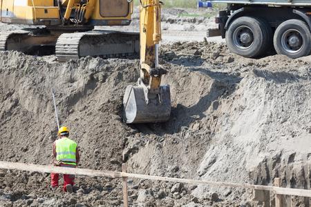 obrero trabajando: Obra de construcci?n