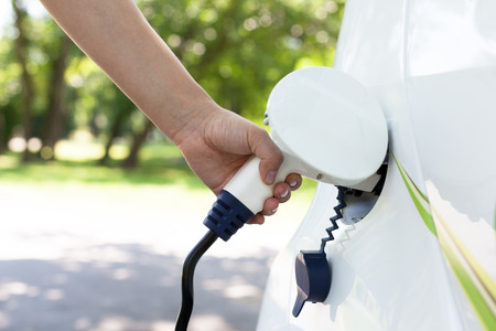 ecological environment: Electric car charging