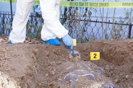 Crime scene investigation Zdjęcie Seryjne