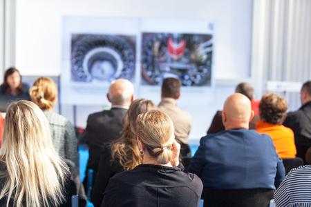 Zakelijke of professionele conferentie
