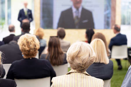 Business presentation or professional conference
