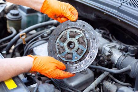 Car clutch disc failure repair replacement or inspection