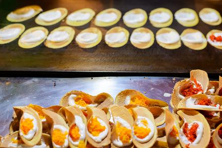 Thai Crispy Pancake,Thai Style Crisp Tart.