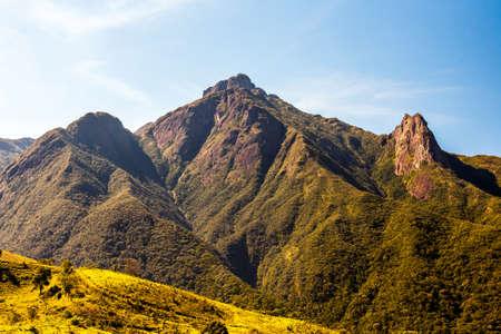 Brazilian highlands - Mantiqueira range - Pico dos Marins in Brazil