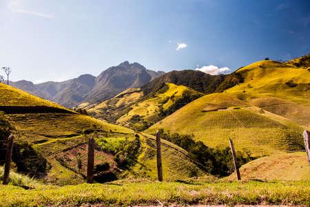 Mantiqueira range in Brazil