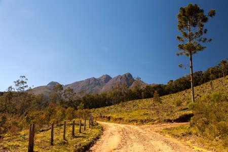 Road in rural cities in Brazil