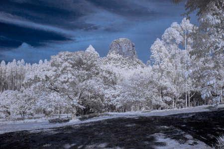 Cuscuzeiro mount in Analandia - Sao Paulo - Brazil in infrared IR 720nm