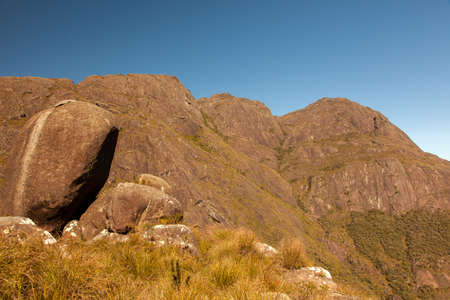 Rocks and rock mountains in Brazil