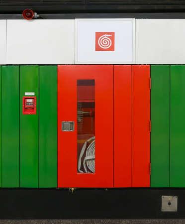 Fire hydrant on brazilian subway station