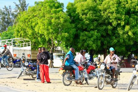 Scenes of life in Watamu, Kenya Redakční
