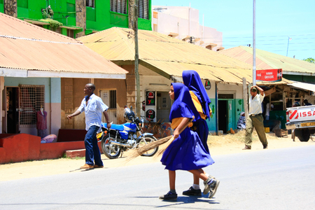 savana: Scenes of life in Watamu, Kenya Editorial