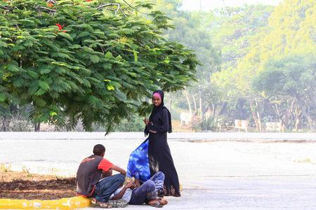 Scenes of life in Watamu, Kenya Editorial