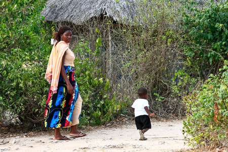 Scenes of life in Watamu, Kenya Editorial