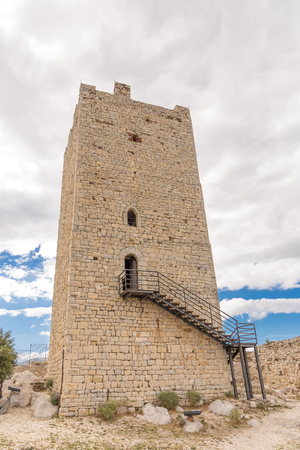 The tower of ancient Castle of Fava in Posada - Sardinia