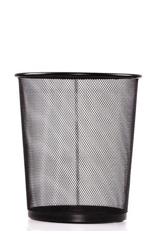 wastepaper basket: Wastepaper basket Stock Photo