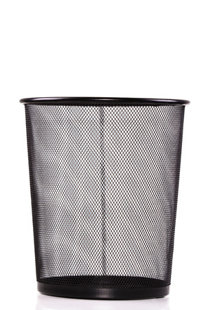 wastepaper: Wastepaper basket Stock Photo
