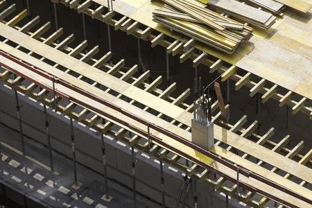 timber formwork beams